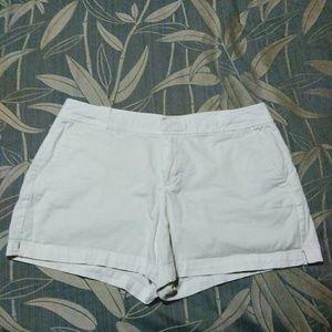 New York & Company White shorts